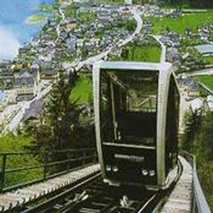 Cable Car To The Hallstatt Salt Mines