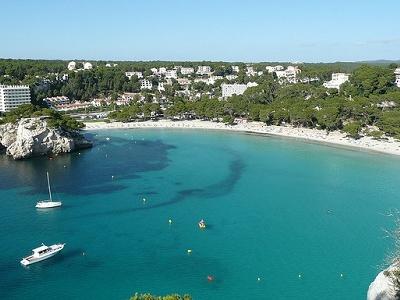 Cala Santa Galdana Bay - Menorca - Balearic Islands Of Spain