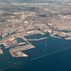 CA Port Of Long Beach - Aerial View