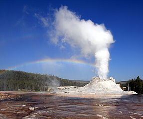 Castle Geyser - Yellowstone - Wyoming - USA