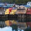 Castro Houses - Chiloe Island Chile