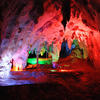 Chifley Cave With Coloured Illumination