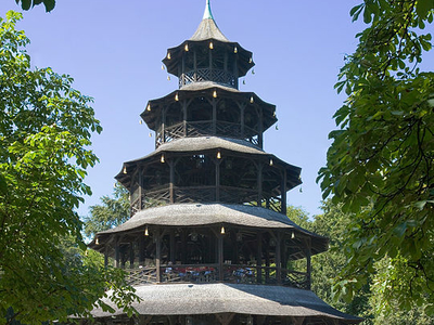 Chinese Tower Beer Garden