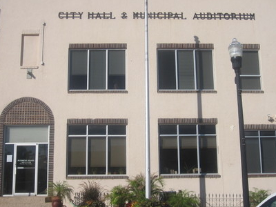 City Hall And Municipal Auditorium In Canadian Texas