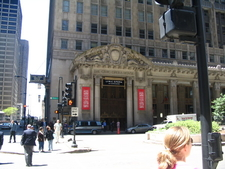 Front Sign Of The Civic Opera House