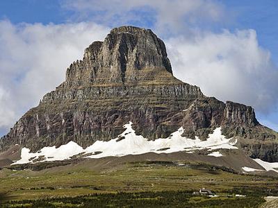 Clements Mountain - Glacier - USA