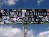 Col Du Galibier Marker