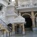 Courtyard Of Chhatarpur Temple
