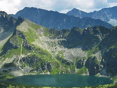 Czarny Staw In The Valley Of Five Polish Lakes
