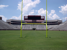 A View Of The North End Zone