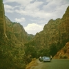 Driving Inside Zion NP