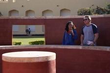 Ann & David Urmann At Jantar Mantar - Jaipur