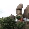 Golconda FortUnique Rock Formation