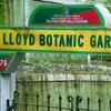 Lloyd's Botanical Garden Entrance Gate