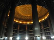 Illuminated Dome Ceiling