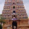 Durgambikai Temple Gopuram In Patteeswaram,
