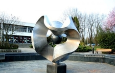 Dynamic Sculpture Fountain, Paks
