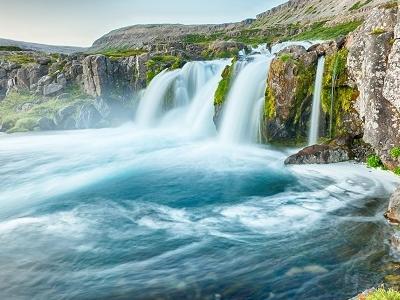 Dynjandi Waterfalls - West Fjords