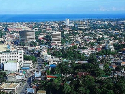 Davao City Aerial View