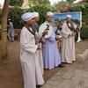 Egyptian Musicians Wearing Gellabiyas