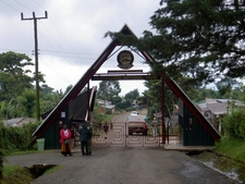 Entrance To Kilimanjaro National Park