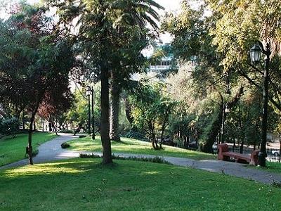Entrance To Cerro - Santiago De Chile