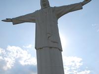 Cristo Rey Colombian Statue