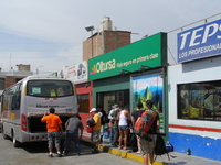 Nazca Bus Station