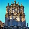Facade Of The Clerigos Church