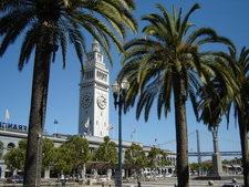 The Ferry Building Along The Embarcadero
