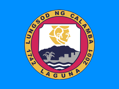 Flag Of City Of Calamba