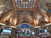 Frescos In The Cupola Of Galerías Pacífico