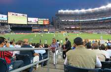 Front View Of Yankee Stadium