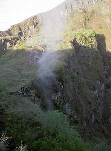 Fumerole Batur