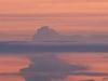 Fourpeaked Mountain During Eruption