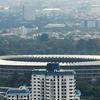 A View Of Jakarta's Bung Karno Stadium