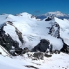 Glaciated Mountains In Andes Argentina