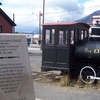 Golden Spike Monument At Carcross Yukon