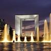 Grande Arche At Night