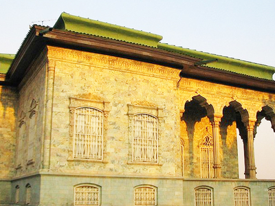 Green Palace At Sadabad Palace Complex