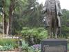 Griffith J Griffith Statue - Griffith Park