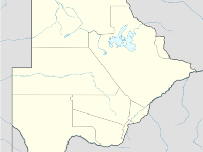 Gamabuo Is Located In Botswana