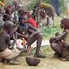 Hamer People Near Turmi In Ethiopia