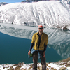 Hiker At Gokyo Lake - Nepal