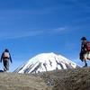 Hiking Tongariro National Park NZ