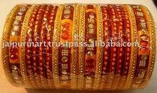 Handmade Indian Lakh Bangles From Jaipur