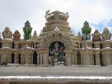 Bull Temple - Bangalore - Carving Decorations