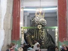 Bull Temple Main Idol Close-Up- Bangalore