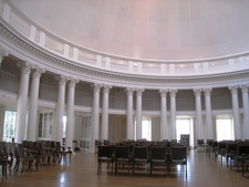Inside The Dome Room Of The Rotunda