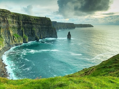 Irish Cliffs Of Moher - Sunset View